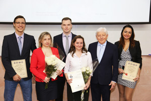 "The best young scientists from ""Prometey"" were awarded"